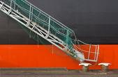 Fotografie Containerschiff-detail