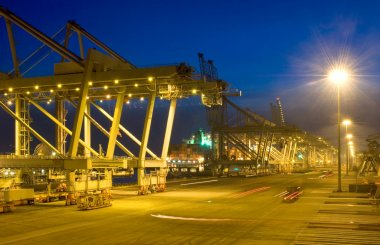 Fully automated container terminal