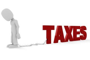 3d man - taxes