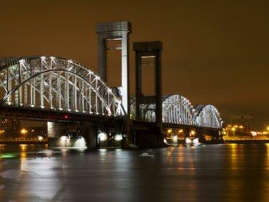 Night Finland bridge