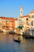 Fotografie canal grande in venedig, italien