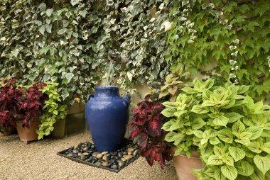 Garden fountain idea