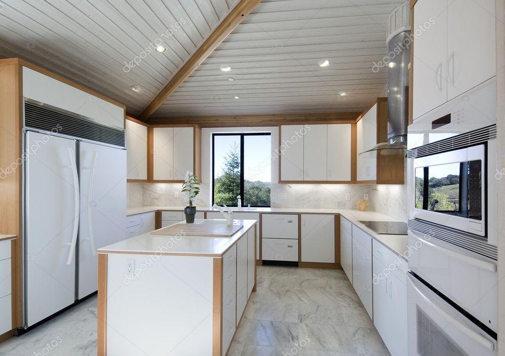 Ultra Moderne Keukens : Moderne keuken u2014 stockfoto © shippee #2236342