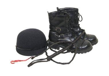 Informal riding hat