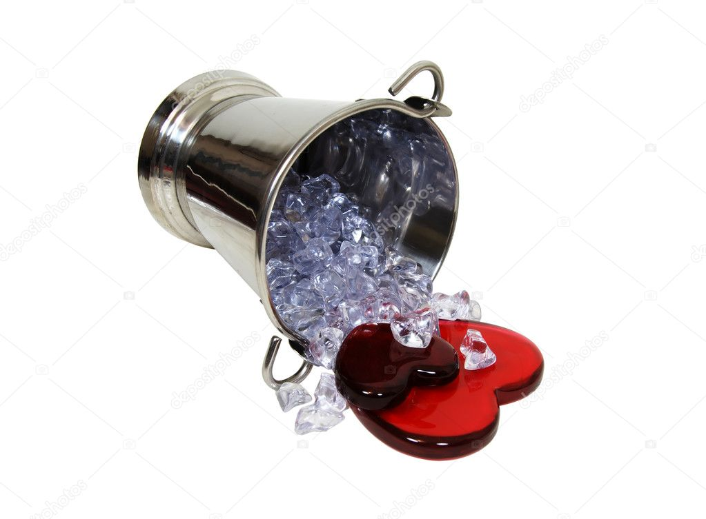 Attractive Love Sparkles Like Ice U2014 Stock Photo