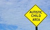 Fotografie Zeichen für autistisches Kind