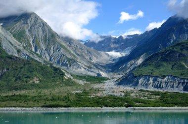 Mountains & Glacial Valley, Alaska