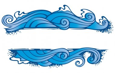 Four elements' frame: water