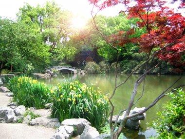 """Картина, постер, плакат, фотообои """"пейзаж парка природы, ханчжоу постеры"""", артикул 2477381"""