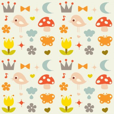 Vector cute background