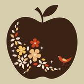 Fotografia Vector design apple