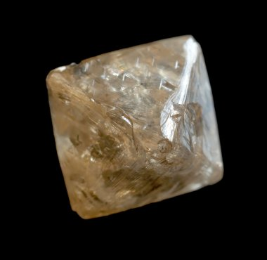 Rough diamond crystal