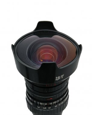 Fisheye, nice lens isolated