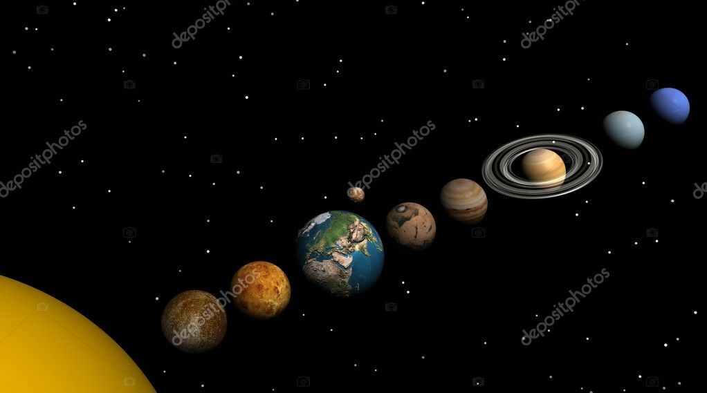 solar system pictures - 1000×556