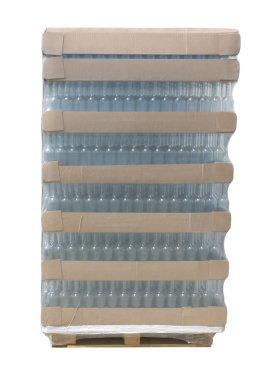 Pallet of bottles