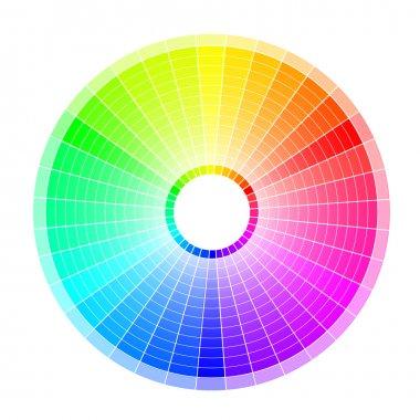 Colored wheel white
