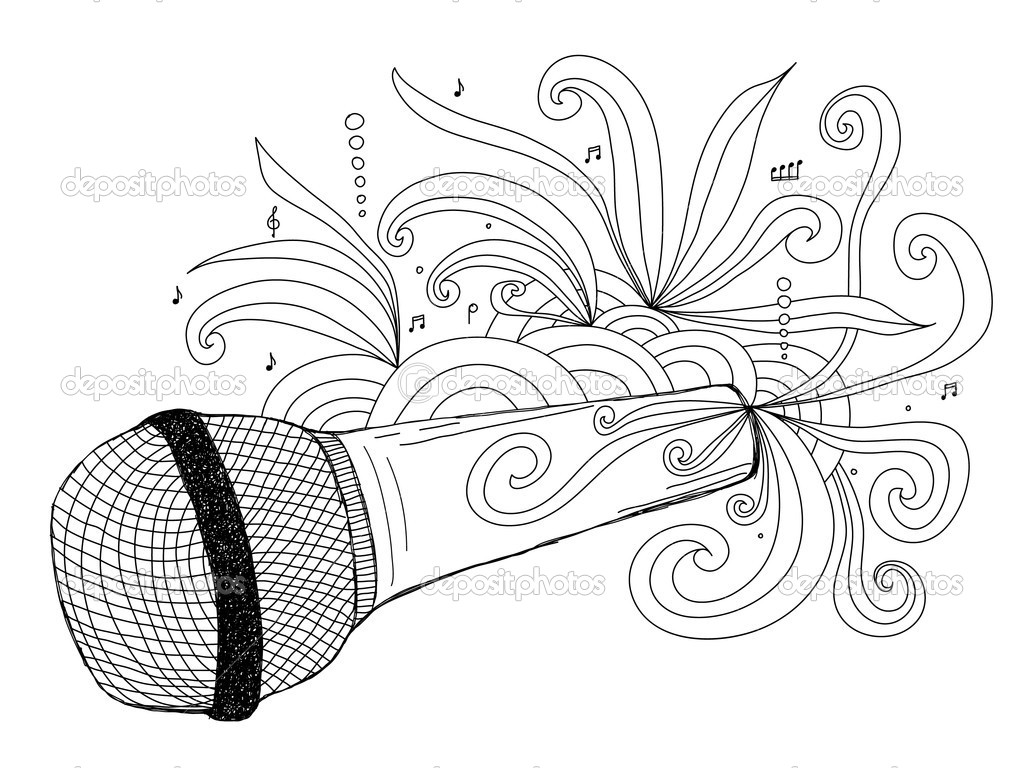 microphone stock vector 169 texturis 2212520
