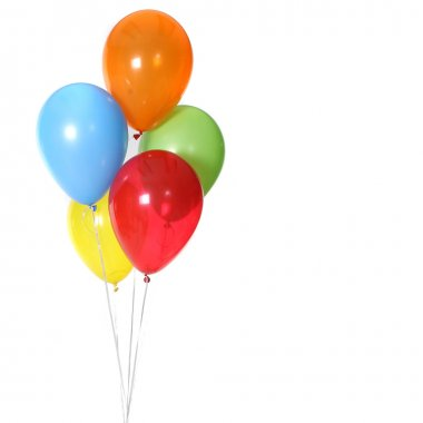 5 Birthday Celebration Balloons