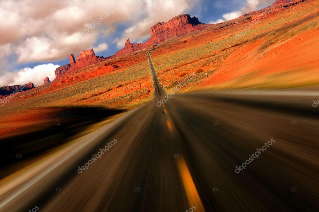 Dramatic Monument Valley Arizona Mile 13