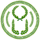 Photo Laurel wreath