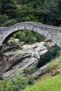 Ancient arch stone bridge