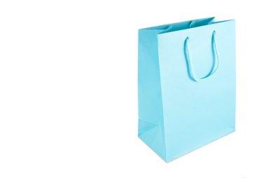 Light blue gift bag