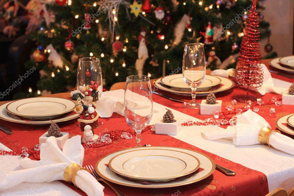 La Tavola Di Natale Immagini.Tavola Di Natale Foto Stock C Johann 2292498