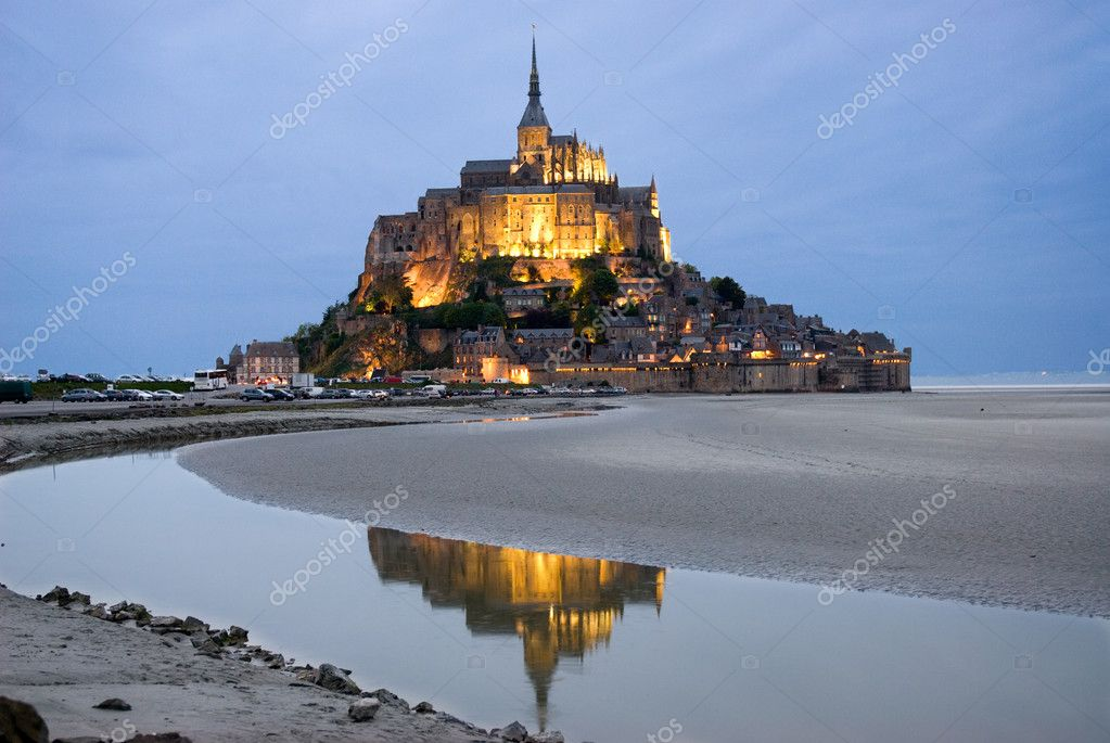 Night view , Normandy, France