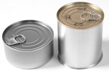 Tin can. Isolated