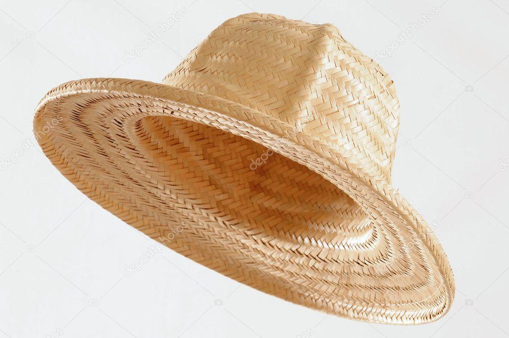 Straw hat.