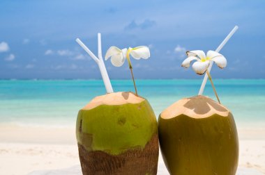 Tropical Coconut Cocktail