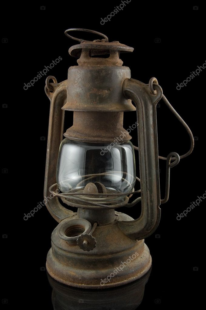 Old miner lamp — Stock Photo © thepiwko #2622759
