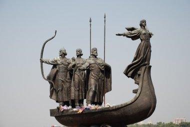 Famous monument in Kiev