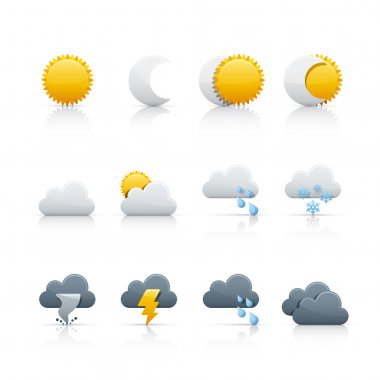 Icon Set - Weather and Climate