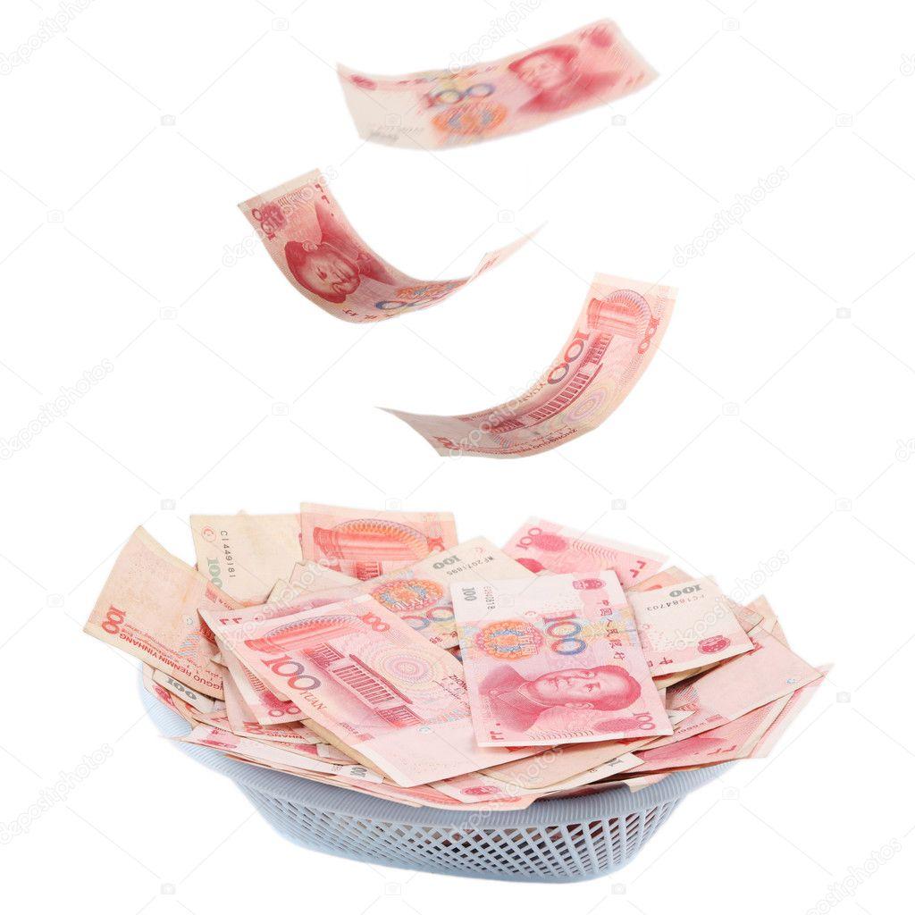 Chinese Money Is Raining Stock Photo Chungking 2232233