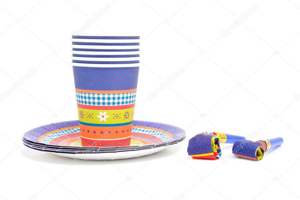 Geburtstag Teller Und Tassen Stockfoto C Sannie32 2175741