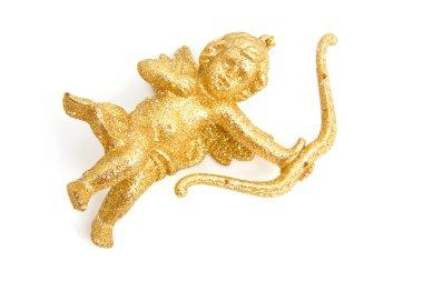 Golden christmas angel