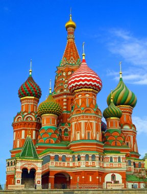 Russia moscow red square the Cathedral of the Virgin Protectress,the Cathed