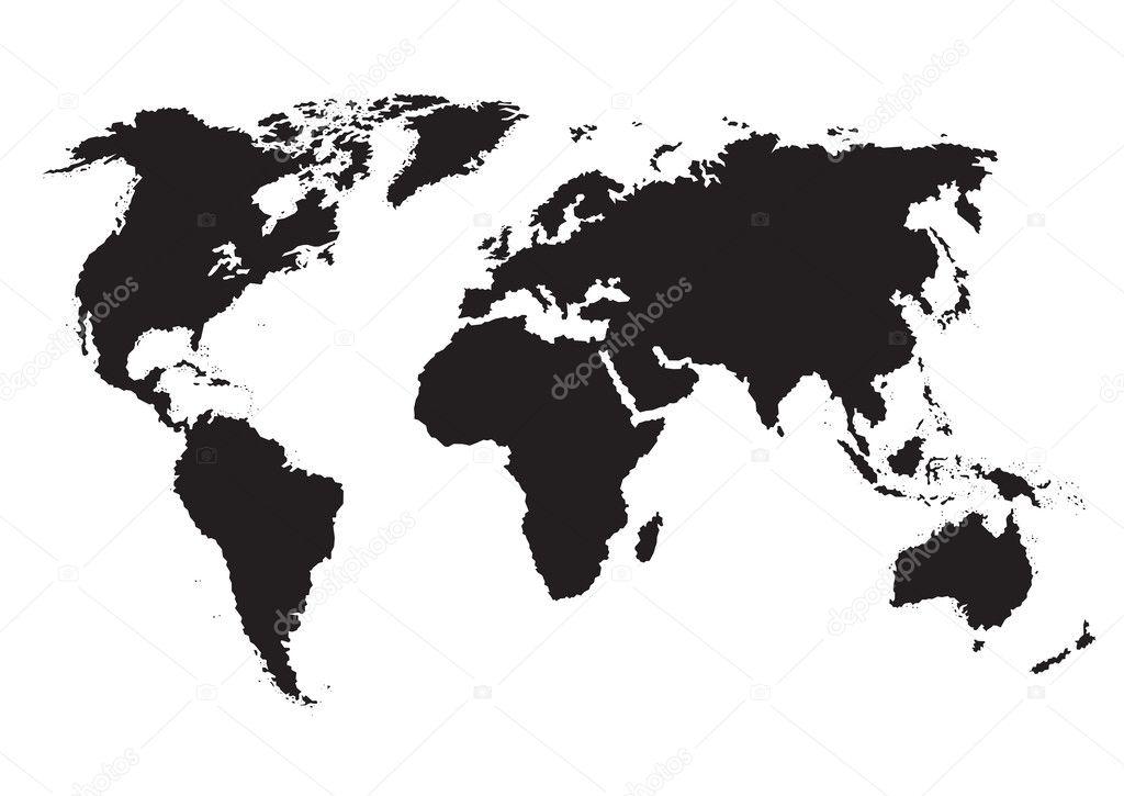 World map vector vector de stock milalala 2198663 world map vector vector de stock gumiabroncs Choice Image