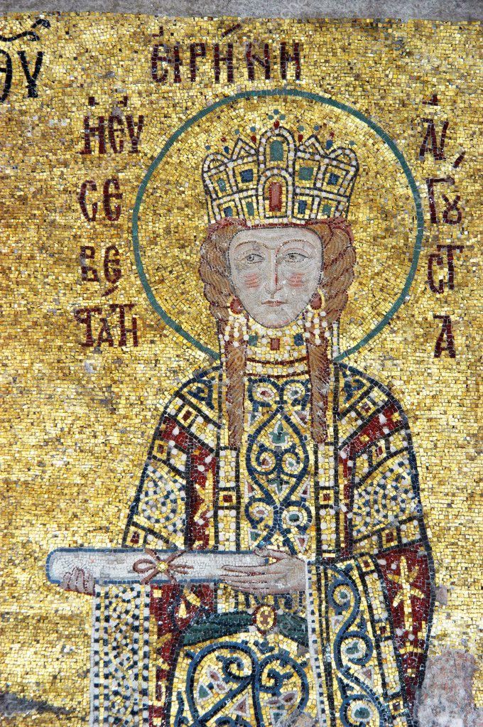 Empress Irene, Hagia Sofia in Istanbul