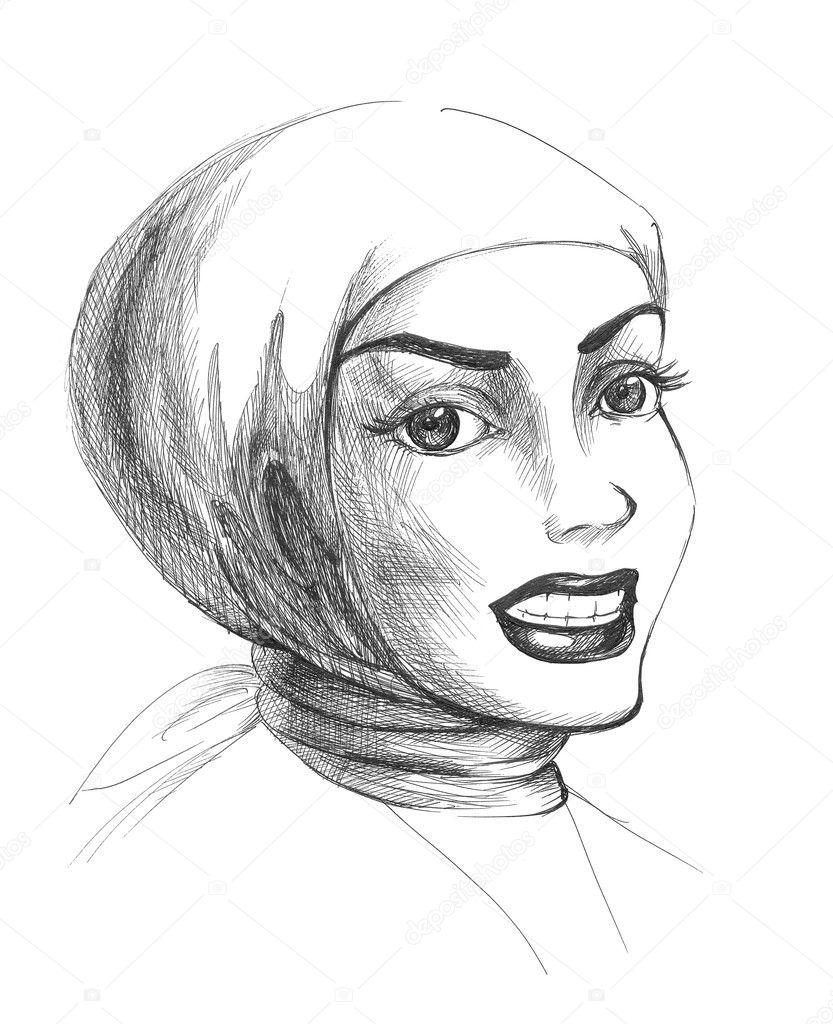 Карандаш рисунки фото девушки