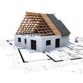 dům ve výstavbě