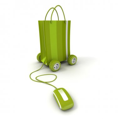 Home shopping in green
