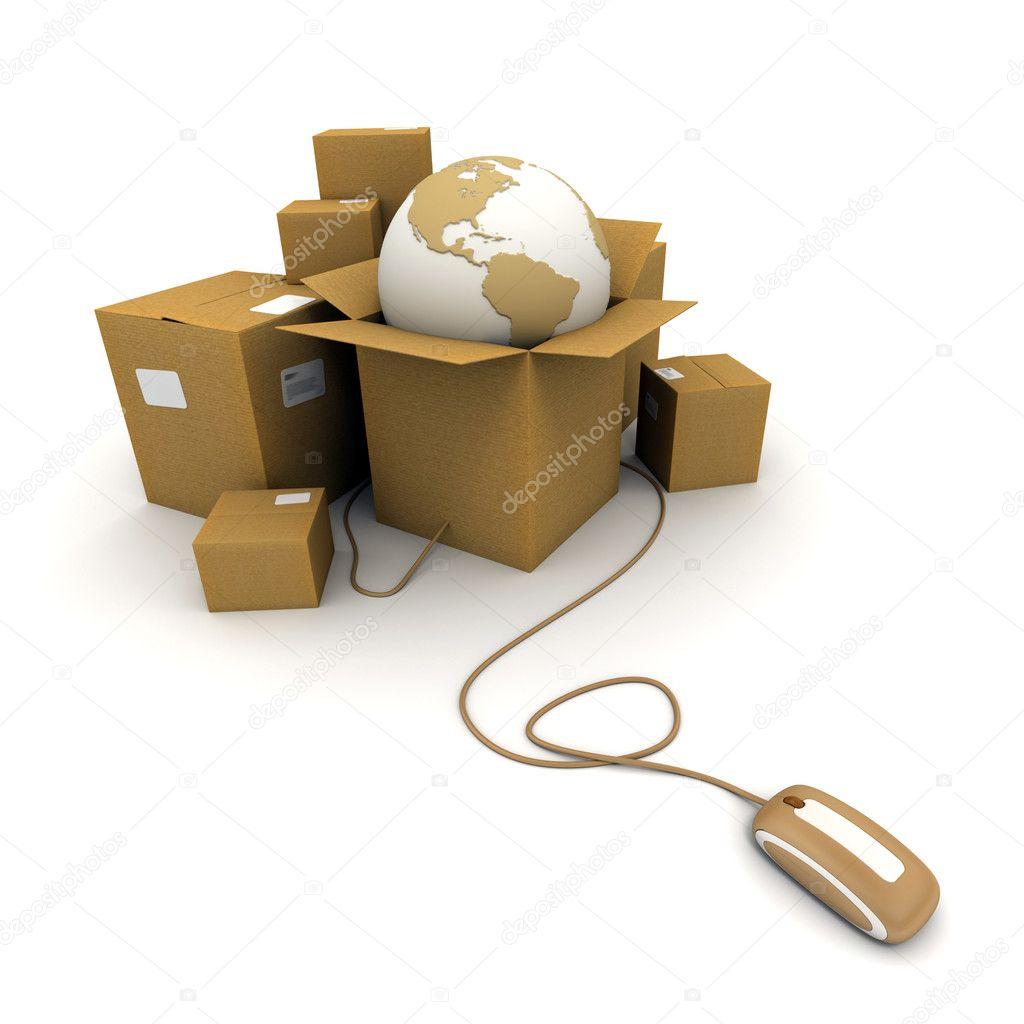 Global shipment online
