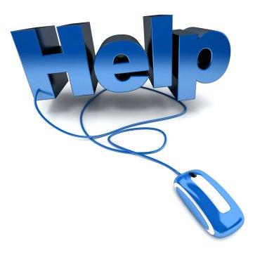 Help online blue