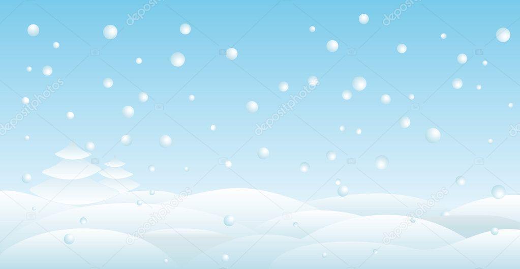 Winter Background Vector Free Vector Download 45 386 Free: Stock Vector © Emeliana #2194325