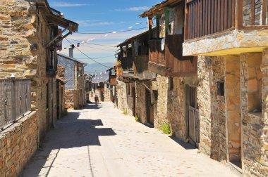 Spanish village along Camino de Santiago