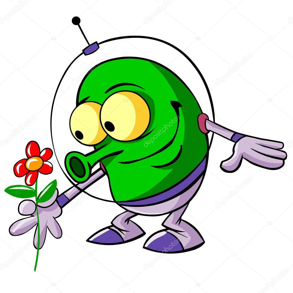 cute alien u2014 stock photo regisser com 2580296