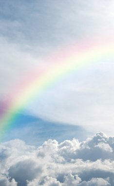 Heavenly rainbow