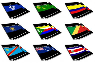 World flag book collection 07